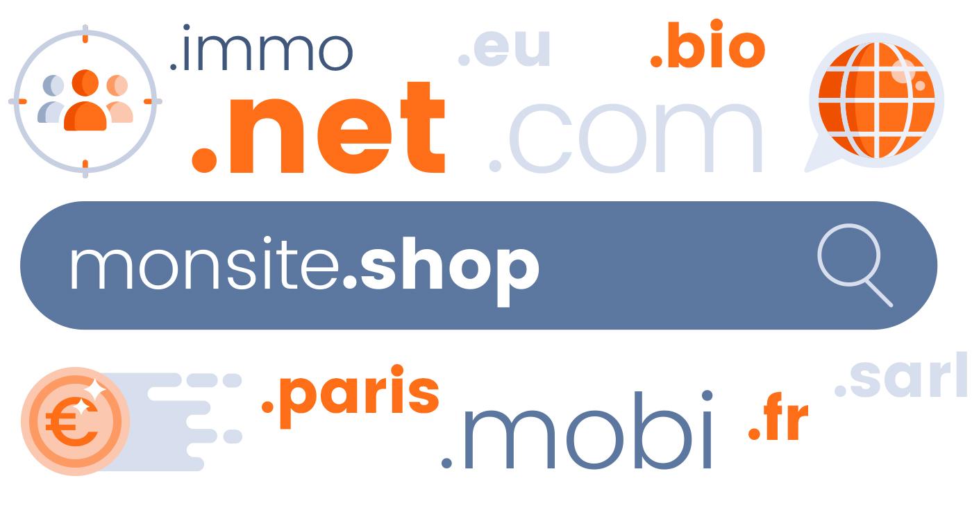Quelle extension de nom de domaine choisir pour son e-commerce ?